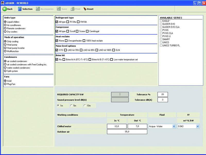 ITS - consulting RCW SW za odabir uređaja